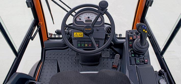 B250 cabine